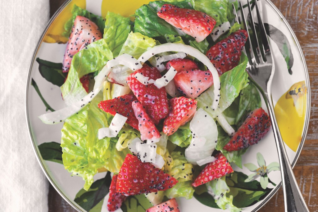 Strawberry and Onion Salad