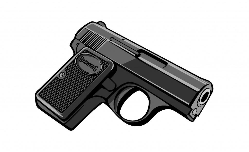 Gunillustration