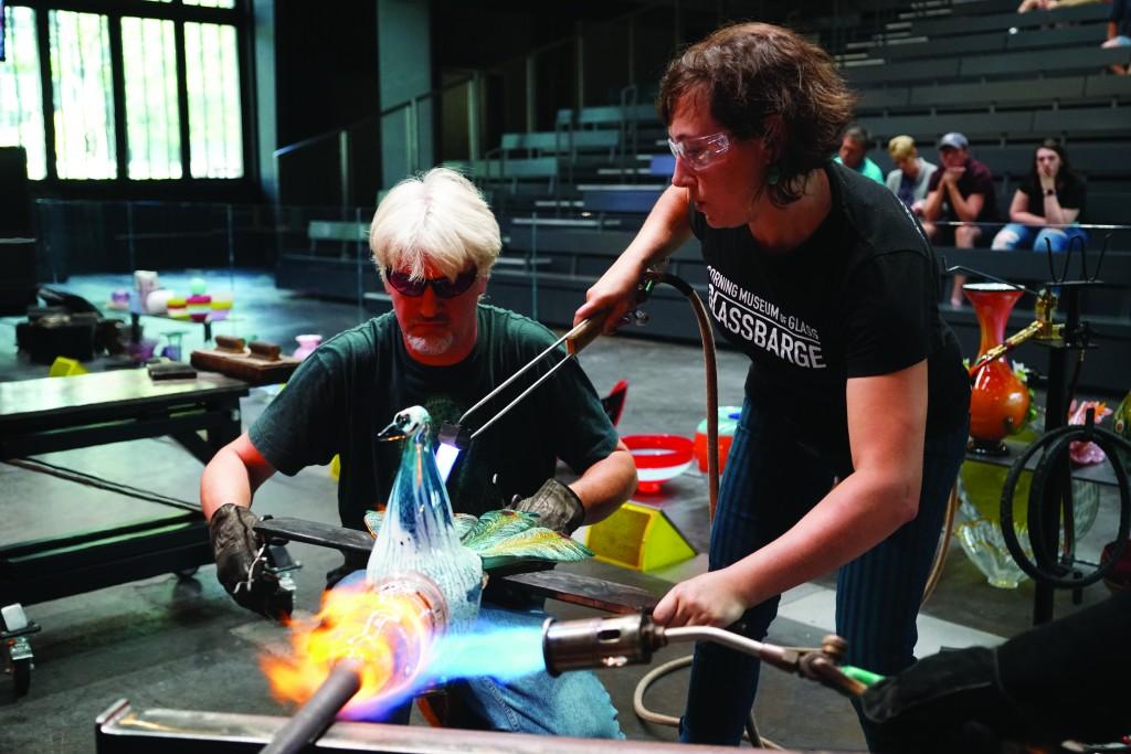 Corning Museum Glass Blowing