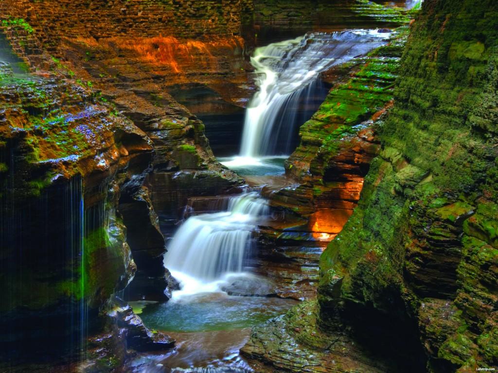 Watkins Glen State Park Waterfalls